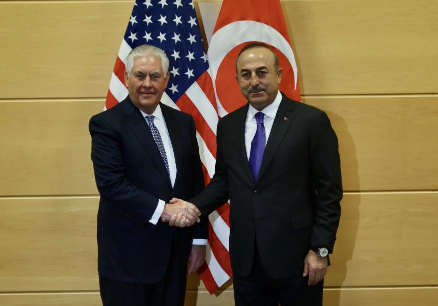 وزير الخارجية التركي يحذّر تيلرسون من فوضى قرار نقل السفارة الأمريكية إلى القدس