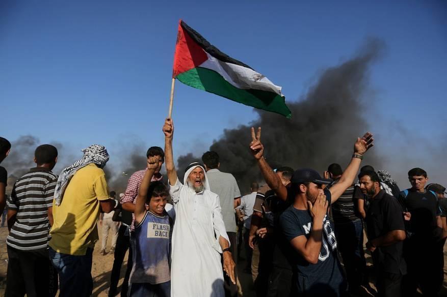 """غزة تستعد لبدء فعاليات """"جمعة انتفاضة القدس"""" التاسعة والعشرين بمسيرات العودة"""
