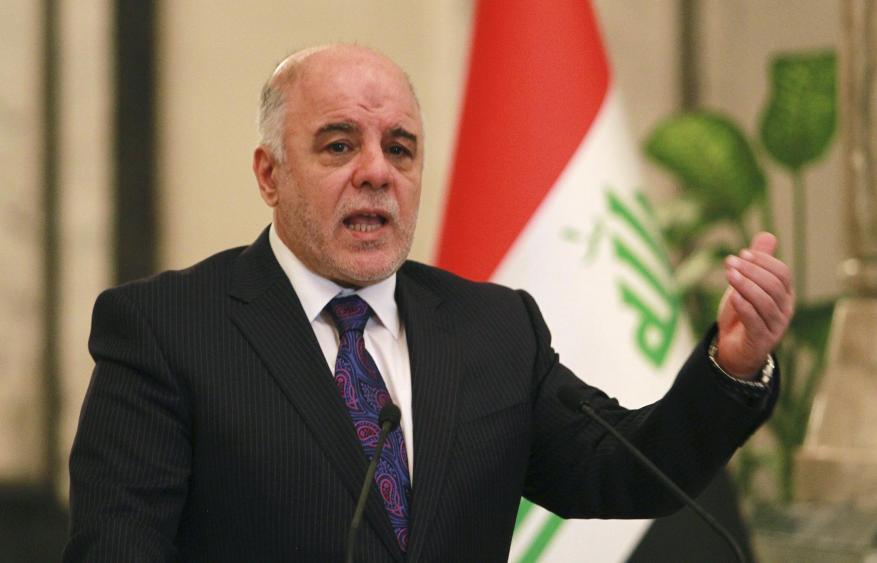 العبادي: سنستعيد السيطرة على المنافذ الحدودية في كردستان بدون تصعيد