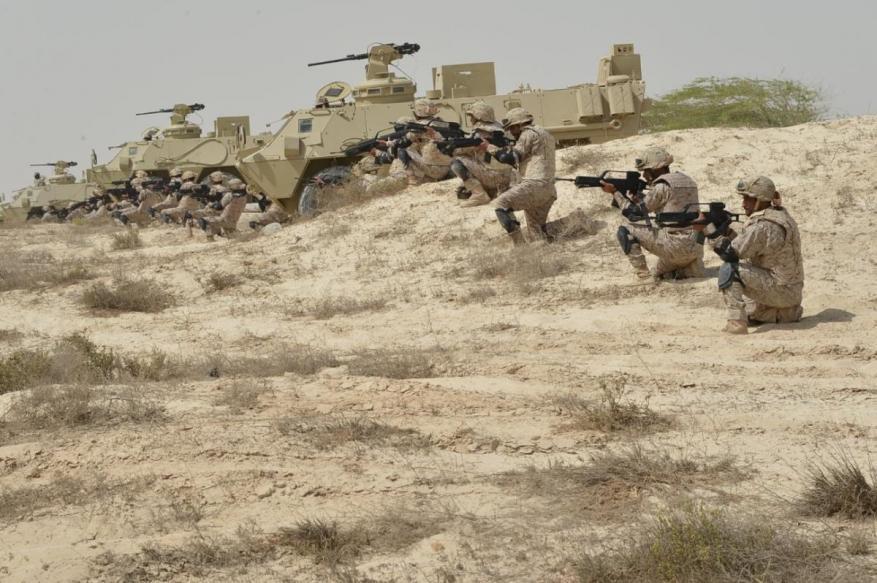 تمرين عسكري بين دول الخليج والولايات المتحدة