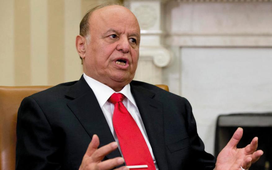 وزير يمني يلمّح لاحتجاز هادي بالرياض ويدعو لمظاهرات تطالب بعودته
