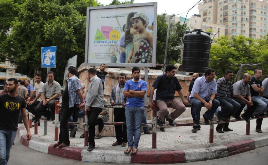 البطالة في فلسطين تصعد إلى 27.4 بالمائة لعام 2017