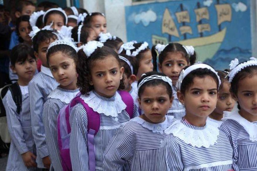 احتجاج على اكتظاظ الصفوف المدرسية في بيت أولا