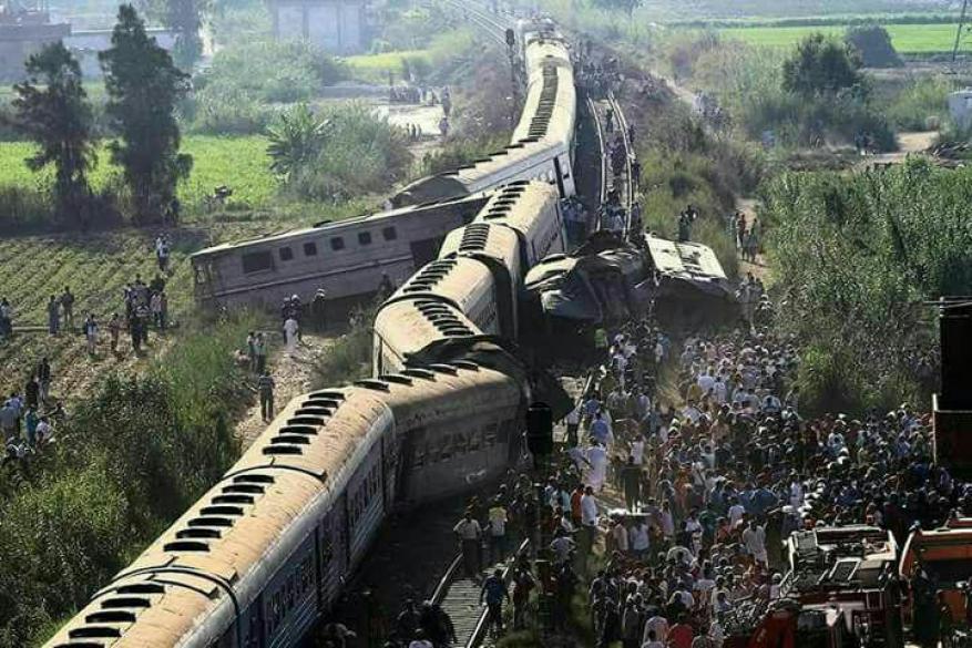وفاة مستشار وزير النقل المصري بعد مشاهدته ضحايا حادث تصادم القطارين