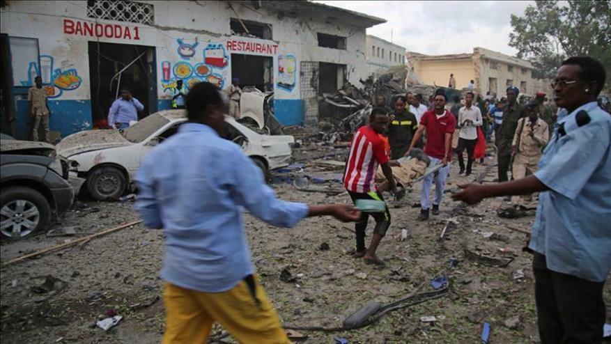 انفجار سيارة مفخخة بالعاصمة الصومالية
