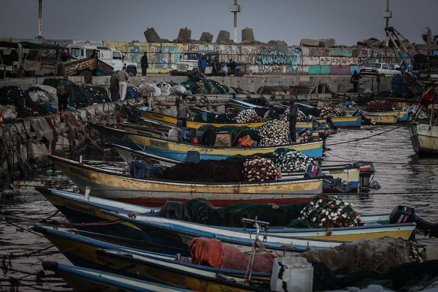 بحرية الاحتلال تعتقل 7 صيادين بينهم مصاب بحالة خطرة