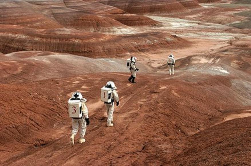 تصميم مدينة سكنية تتسع لـ 10 آلاف شخص على سطح المريخ