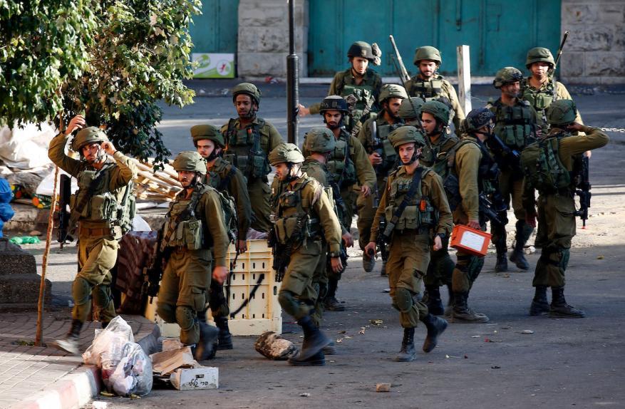 قوات الاحتلال تعتدي على طلبة مدرسة بورين جنوب نابلس