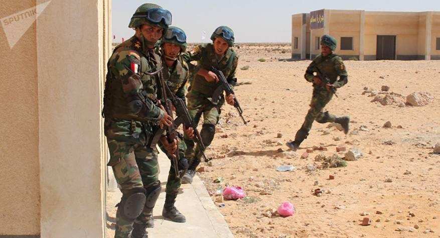 الجيش المصري يعلن القضاء على 12 مسلحا في سيناء