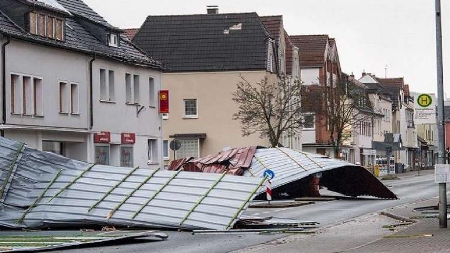 تسعة قتلى جراء عواصف تضرب أوروبا