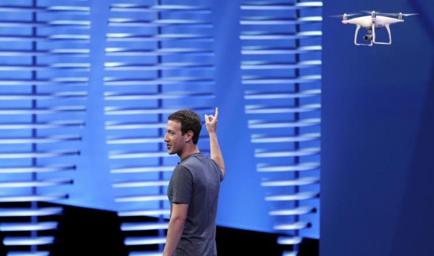 فيسبوك: طائرات مسيرة لتوصيل الإنترنت للمناطق النائية