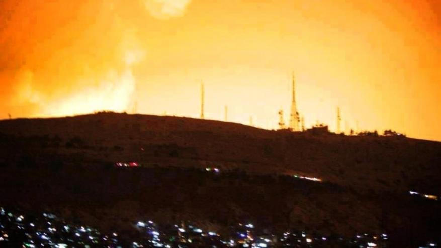المونيتور: 42 قتيل في الهجمات الاسرائيلية على سوريا الأسبوع الماضي