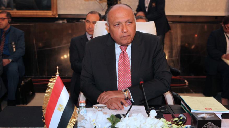 وزير الخارجية المصري يزور الخرطوم لإجراء مباحثات