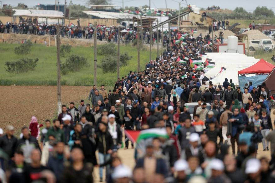مسيرة العودة الكبرى.. إعادة الاعتبار للقضية الفلسطينية
