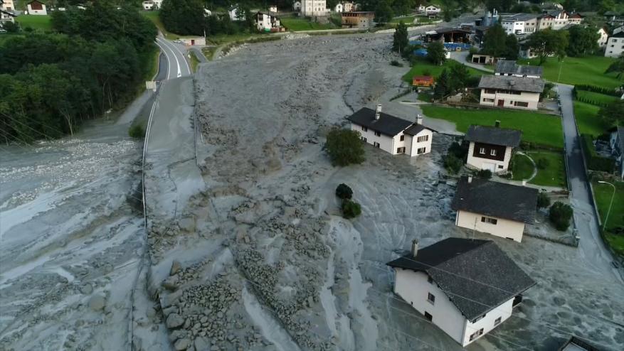توقعات بانهيارات أرضية جديدة في سويسرا