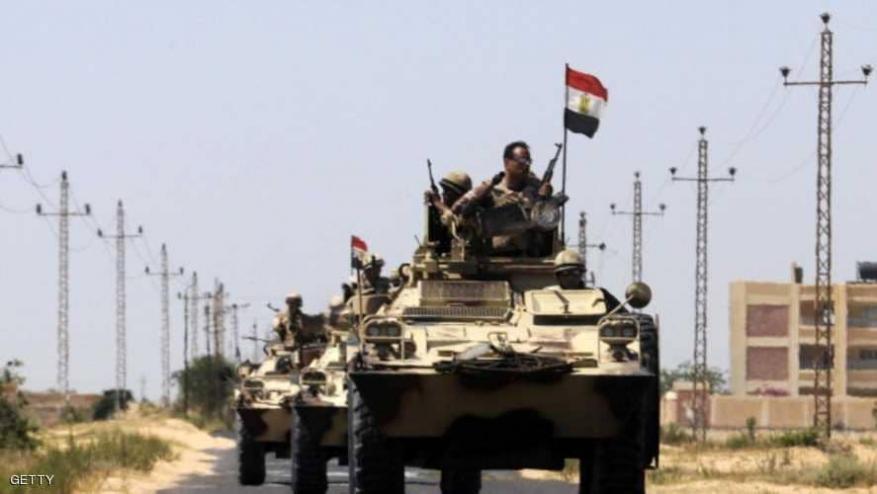 الجيش المصري: مقتل عسكريين اثنين و16 مسلحا بعملية المجابهة الشاملة