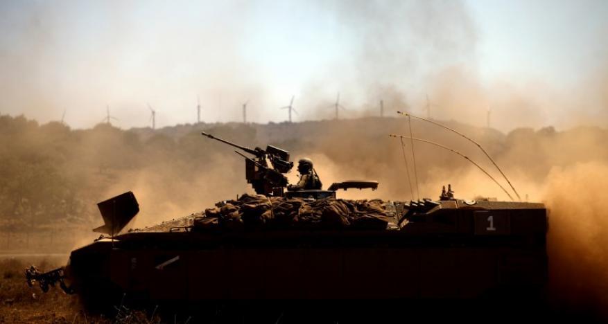 الاحتلال يستهدف نقطتي رصد للمقاومة شرق المغازي