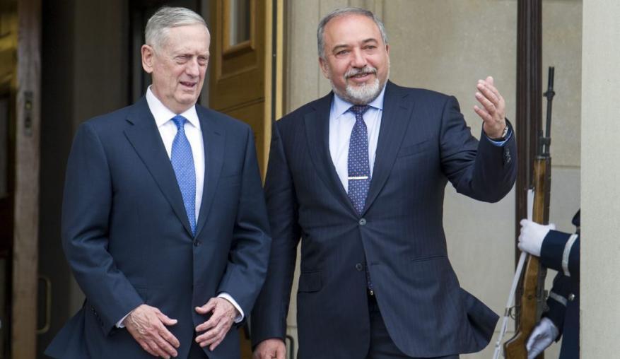"""وزير الدفاع الأمريكي يزور """"إسرائيل"""" الأسبوع الجاري"""