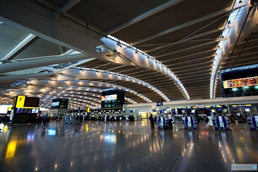 ارباك في حركة الطيران في مطار لندن لهذا السبب