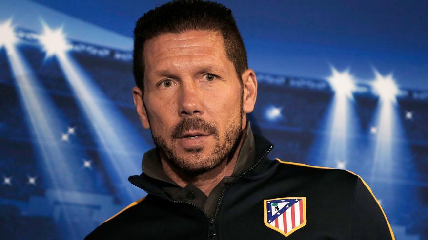 أتليتكو مدريد يمدد عقد مدربه سيميوني حتى 2020