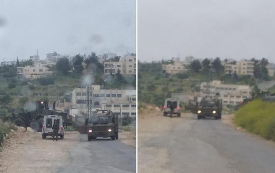اصابات في موجهات تقوع شرق بيت لحم
