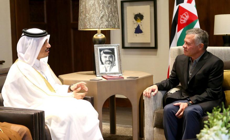 قطر تعلن دعم الأردن بـ500 مليون دولار و10 آلاف فرصة عمل