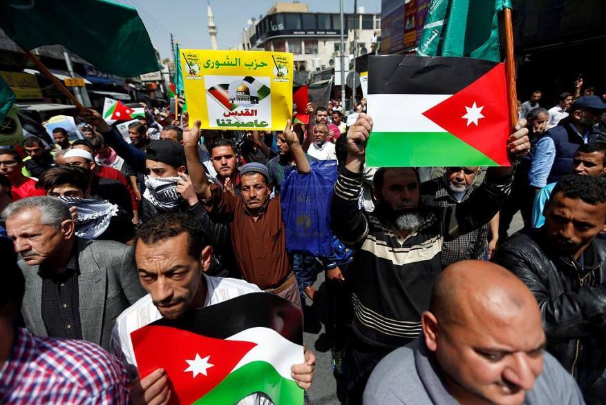 الأمن الأردني يمنع مسيرة تضامنية مع مسيرة العودة الكبرى
