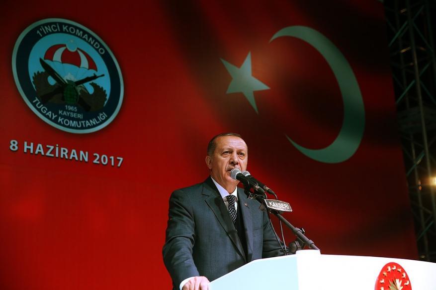 أردوغان: نترك وحدها ونحذر يستخف