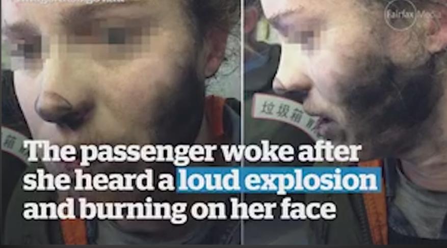 سماعات تنفجر في رأس راكبة أسترالية كانت متن طائرة