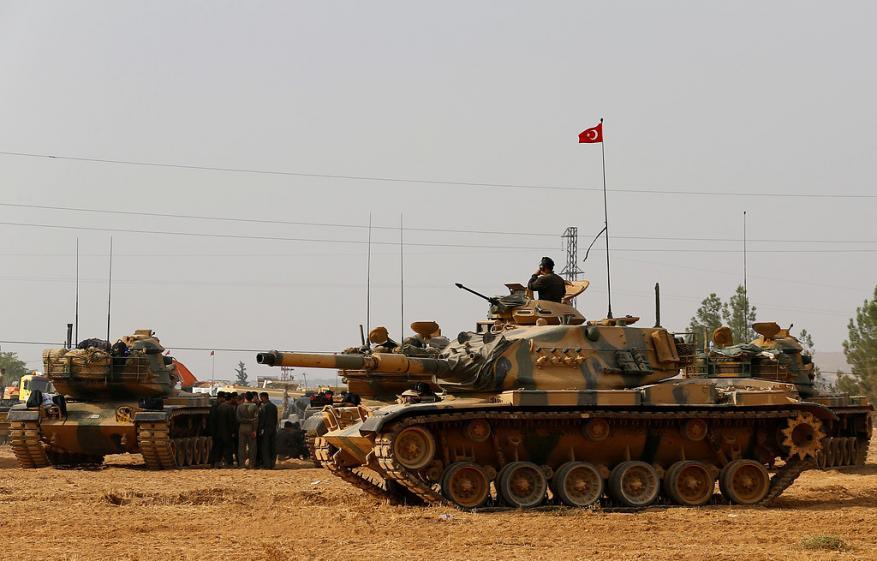 الجيش التركي يعلن قتل 48 عنصر من تنظيم الدولة في سوريا