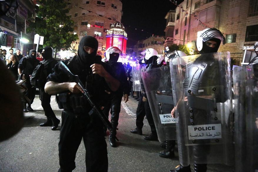 هيئة حقوقية تطالب بمحاسبة المتورطين بقمع متظاهري رام الله