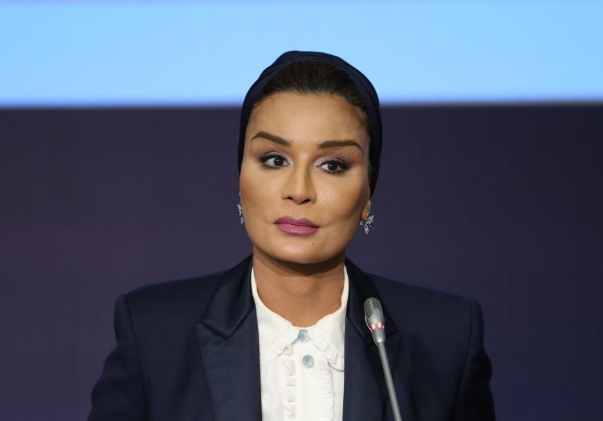 """الشيخة موزا: يجمعنا بالسعودية تاريخ طويل ولا يمكن للحصار """"محو جيناتنا"""""""