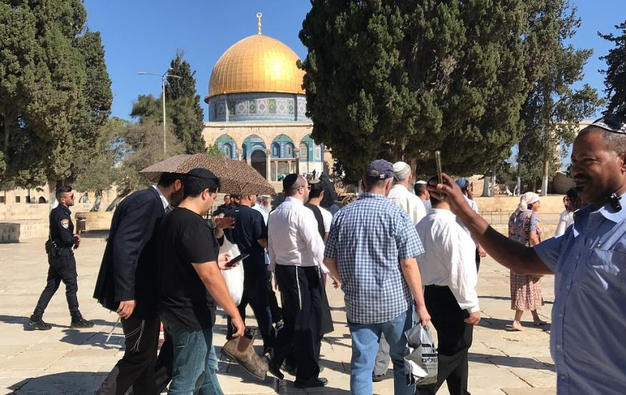 Israeli Forces Storm Al-Aqsa, Take Measurements and Photographs