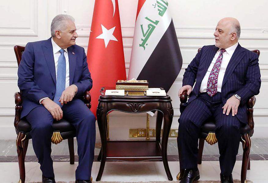 العبادي: اتفقنا مع تركيا على سحب قواتها من مدينة بعشيقة