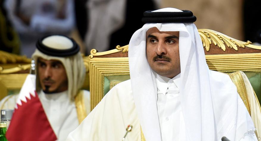 أمير قطر: نأمل أن يؤدي إنهاء الانقسام الى رفع الحصار عن غزة