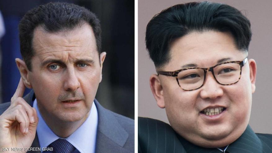 رسالة من زعيم كوريا الشمالية إلى بشار الأسد.. ماذا جاء فيها ؟