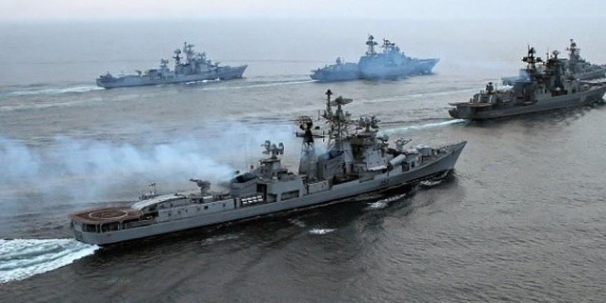الأسطول الروسي سيجري مناورات بحرية روسية قرب السواحل الليبية