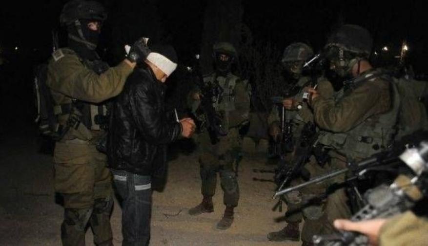 Israeli Occupation Forces arrest 15 Palestinians in West Bank last night