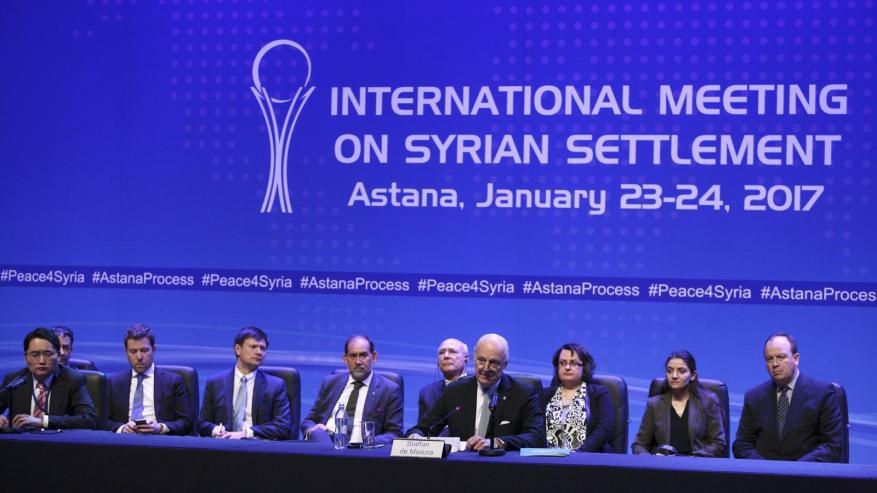 انطلاق الجولة السادسة للمفاوضات السورية بأستانا