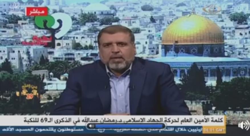 شلح: لن نلقي السلاح ولا وحدة دون الغاء الاعتراف باسرائيل وأوسلو