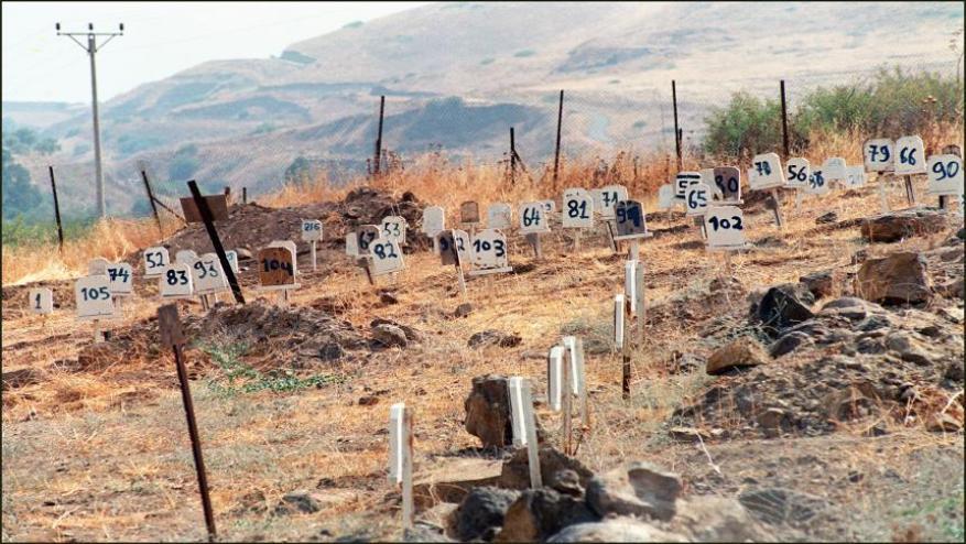 الاحتلال يعلن عن دفن 4 شهداء فلسطينيين في مقابر الأرقام