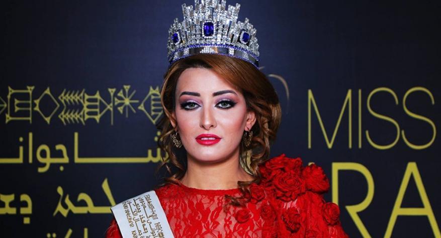 """""""اسرائيل"""" تحتفي بزيارة ملكة جمال العراق"""