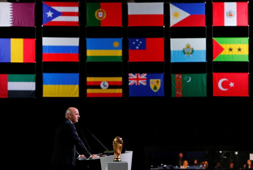 فوز ملف أمريكا وكندا والمكسيك باستضافة مونديال 2026