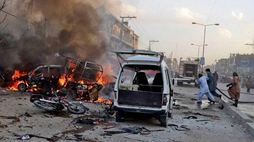 قتلى في الباكستان بانفجار تبناه تنظيم الدولة