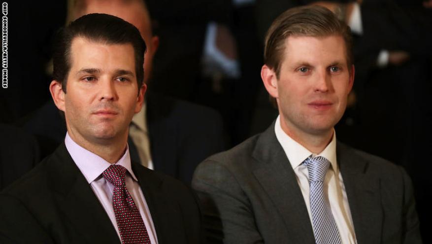 لماذا أرسل الرئيس الأمريكي ترامب ابناءه إلى الإمارات ؟