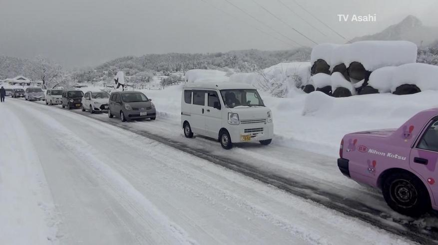 قتلى في اليابان جراء تساقط الثلوج