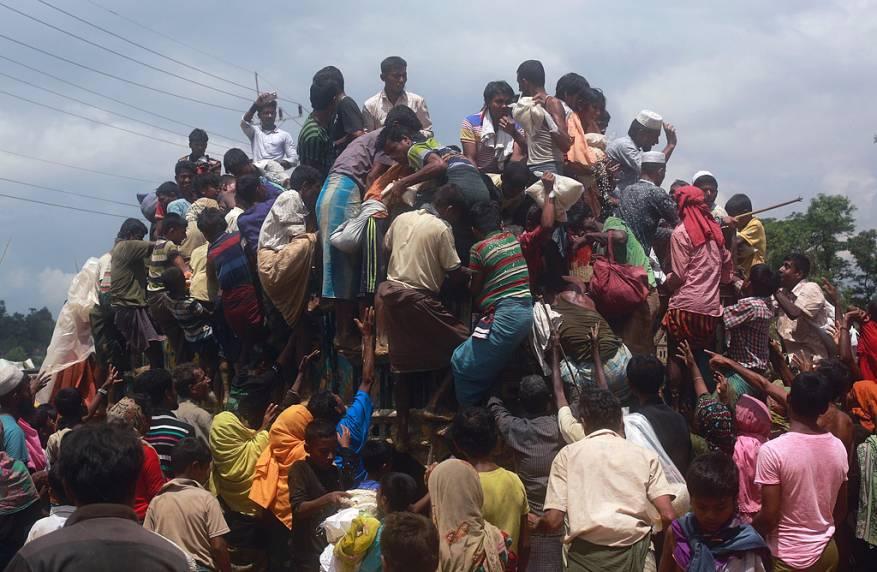 عدد اللاجئين الروهنغيا في بنغلاديش يصل إلى مليون