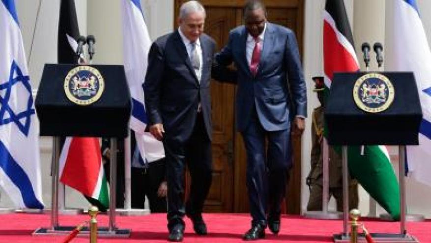 (إسرائيل) إلى احتلال أفريقيا