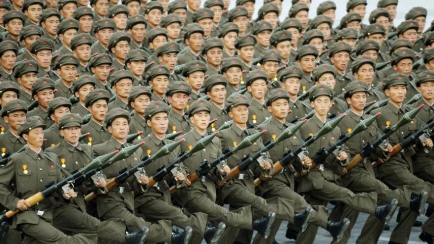 3.5 مليون كوري شمالي طلبوا الالتحاق بالجيش لقتال أميركا