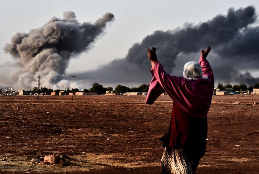 مقتل 29 مدنياً في الرقة بقصف للتحالف الدولي